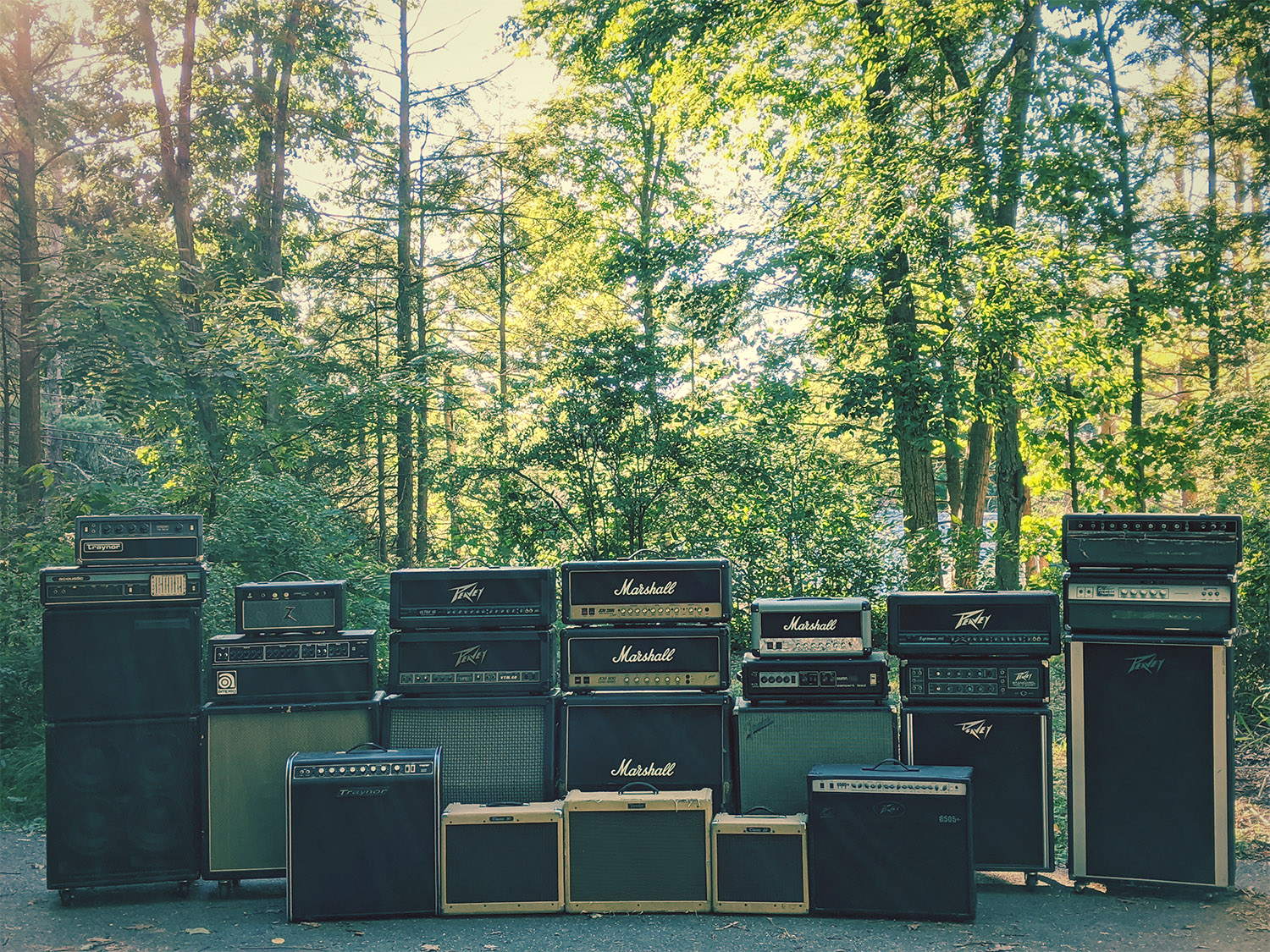 Wall of Amps 2020